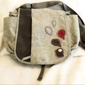 Haiku grey excellent condition messenger bag